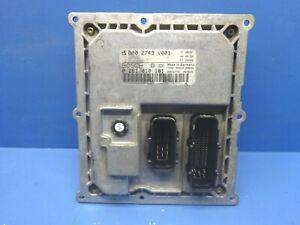 SMART FORTWO 450 0.8 CDI CALCULATEUR MOTEUR BOSCH 0281010161 - 0002749V001