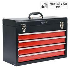 Werkzeugkoffer Werkzeugkiste Werkzeugbox Werkstattkoffer mit 4 Schubladen
