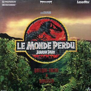 LASERDISC - JURASSIC PARK LE MONDE PERDU WS VF PAL -Jeff Goldblum