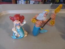 Disney's Little Mermaid PVC figure set Ariel & King Triton