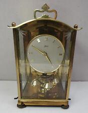 Ältere Tisch Uhr dekorative Schatz Jahresuhr mechanische Drehpendeluhr 60er