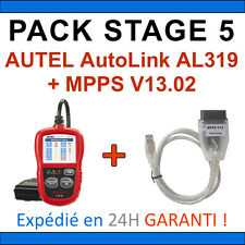 PACK REPROGRAMMATION CALCULATEUR Interfaces Autel AutoLink AL319 MPPS V13 PCK5