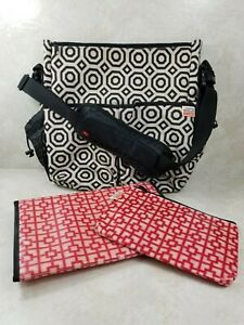 Skip Hop Jonathan Adler Skip Hop Bag With Changing Pad + Xtras