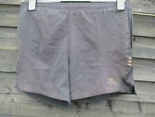 RARE Adidas Response Running Shorts - Black + Brown Stripes - SIZE S W30 Mens