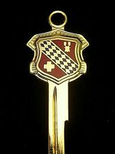 BUICK 1950's Logo Crest KEY BLANK Roadmaster Century Special Le Sabre Riviera