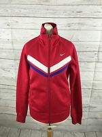 Women's NIKE Track Top - UK8/10 - Pink - Great Condition