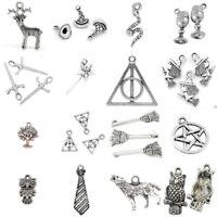 Harry Potter Theme Charms Tibetan Silver Pendants