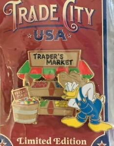 WDW 2010 Trade City USA Disney PIN Celebration DONALD Trader's Market PP #76899