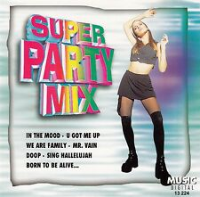 SUPER PARTY MIX - JOHNNY MERTON PARTY SOUND / CD - TOP-ZUSTAND