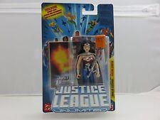 "Justice League Unlimited WONDER WOMAN Planet Patrol 4"" Action Figure NEW 2005"