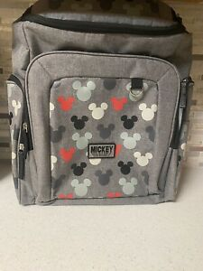 NEW DISNEY BABY MICKEY MOUSE DIAPER BAG BACKPACK *RARE DESIGN*