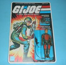 1982 Gi Joe Flash v1 Figure Complete Sealed Moc *Custom* File Card Back *Read*