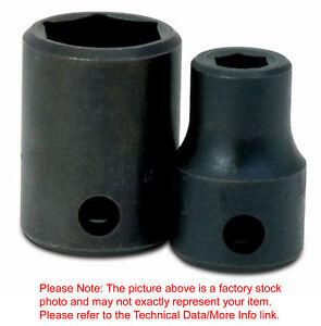 "20mm 6Pt Shallow Impact Supertorque Socket 1/2""Drive Black Industrial USA 4M-620"