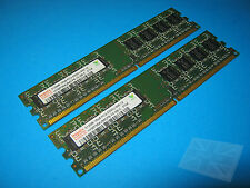 Hynix 1GB (2 x 512MB) PC2-5300U-555-12 DDR2 Memory