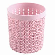 c4b4d533efc Hollow Cylinder Cosmetic Makeup Brush Holder Box Pen Storage Organizer  Tools US