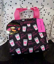 Coffee Lover Lunch Bag Betsey Johnson Insulated Tote Cooler To Go Coffee NEW*