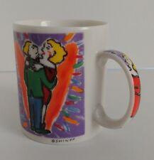 Chaleur Wonderful World Coffee Tea Mug Cup Shindo Love Heart Valentines Couple