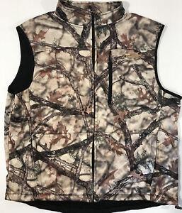 Vintage Gamehide Hunting Vest Mens Sz 3XL Lost Camouflage XD