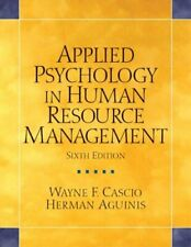 Applied Psychology in Human Resource Management: ... by Aguinis, Herman Hardback