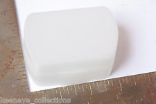 """Flash Diffuser - Approx. 2 x 2 7/8"""" Attachment - White - USED C145"""