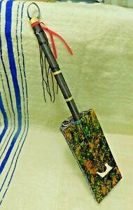 Unique guembri gnawa's famous morocco instrument - old