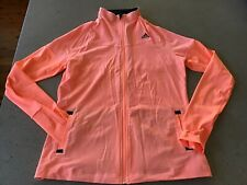 EUC climalite hot pink patterned adidas hoodie