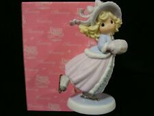 New ListingPrecious Moments-Beautiful Girl Ice Skater-Dated 2002 Limited Edition