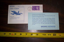 Event Cards Northrop F-5B SUPERSONIC JET FIRST FLIGHT POST CARD