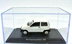 Fiat modelle 1/43 Cinquecento 500 Auto modellautos diecast NOREV sammlung Weiß