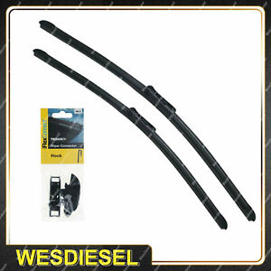 Tridon Wiper Blade & Connector Set for Ford F 150 250 350 Territory SX Explorer