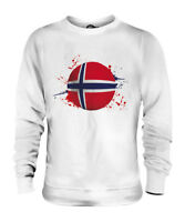 NORWAY FOOTBALL UNISEX SWEATER  TOP GIFT WORLD CUP SPORT