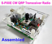 Assembled S-PIXIE CW QRP Ham Amateur Shortwave Radio Transceiver 7.023/7.030 Mhz