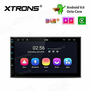 """XTRONS 7"""" Android 9.0 2Din Car Stereo Octa Core 2GB+32GB Radio GPS DAB+ Wifi 4G"""