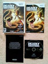 Deadly Creatures  Wii / tbé