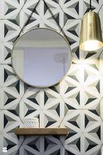 Sevilla Hexagon Black Grey White Porcelain Indoor / Outdoor WALL & FLOOR TILES