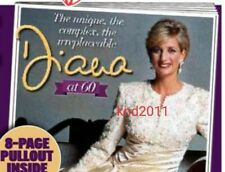 Princess Diana at 60 Tribute Pullout Newspaper Clippings Cuttings 1 July 2021