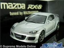 MAZDA RX-8 RX8 MODEL CAR 1:43 SCALE SUNLIGHT SILVER AUTOART 55931 AUTO ART K8