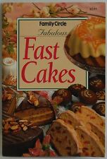 Fast Cakes Family Circle mini cook book Great Recipes
