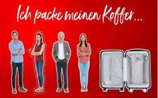 DB Deutsche Bahn ecoupon Mitfahrerfreifahrt 1./2. Klasse Ticket