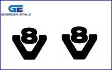 1 Paar SCANIA V8 V 40cm !!//!!? LKW Seitenfenster Aufkleber Sticker // Decal