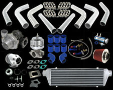 T3/T4 HYBRID 25PSI TURBO SQV PIPING KIT MIT LANCER EVO 8/90-99 ECLIPSE/DSM 4G63