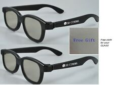 NEW AG-F210 3D Glasses for all LG Passive 3D TV 47GA7900 55GA7900 47LA7400
