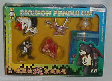 Digimon Pendulum Mini Action Figures NEW In Package Item # 9939C FREE US Ship