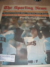 1983 The Sporting News Magazine - Darrell Evans San Francisco Giants