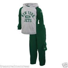 New York Jets Mock-Layer Hooded Top & Pants Set  ~ Size 2T ~ NWT MSRP $38.00