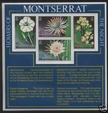 Montserrat 1977 Flowers of the Night MS SG 403 MNH