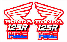 1989 HONDA CR125 HRC EVO WING DECALS GRAPHICS STICKERS