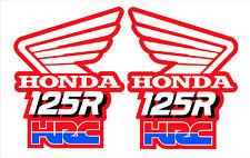1989 Honda CR125 HRC Evo Calcomanías Gráficos Pegatinas de ala
