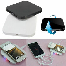 For Universal Phone QI Wireless Charging Mat Dual USB Charger Transmitter Pad