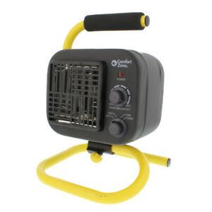 Comfort Zone PowerGear CZ250 Utility Shop Heater with Tubular Stand